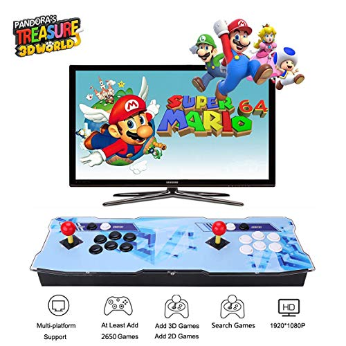 Pandora Treasure 3d Arcade Game Console 2650 Games Installed Search Games Support 3d Games Add More Games 1920x1080 Full Hd Favorite List 4 Players Online Game 2 Player Game Controls