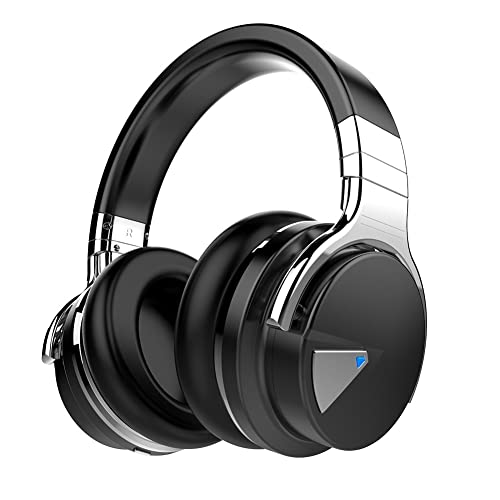 20afe9065b5 COWIN E7 Active Noise Cancelling Headphones Bluetooth Headphones with Mic  Deep Bass Wireless Headphones Over Ear