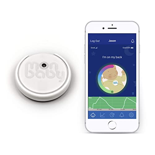 MonBaby Smart Baby Monitor and Smartphone App: Breathing and Rollover  Sensor  Bluetooth and WiFi Options  Alerts You If Pause Of Breath Or  Stomach