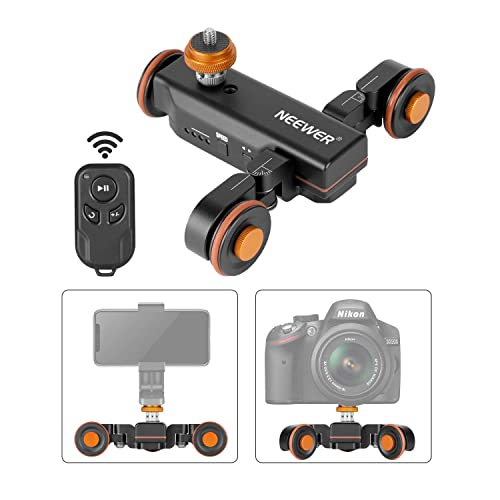 Power-Off Protection 4.5KG All-Direction Capacity 3 Adjustable Speeds Zeapon Micro 2 Slider Motor APP Supported Android /& iOS System /… 39 Decibels Motor