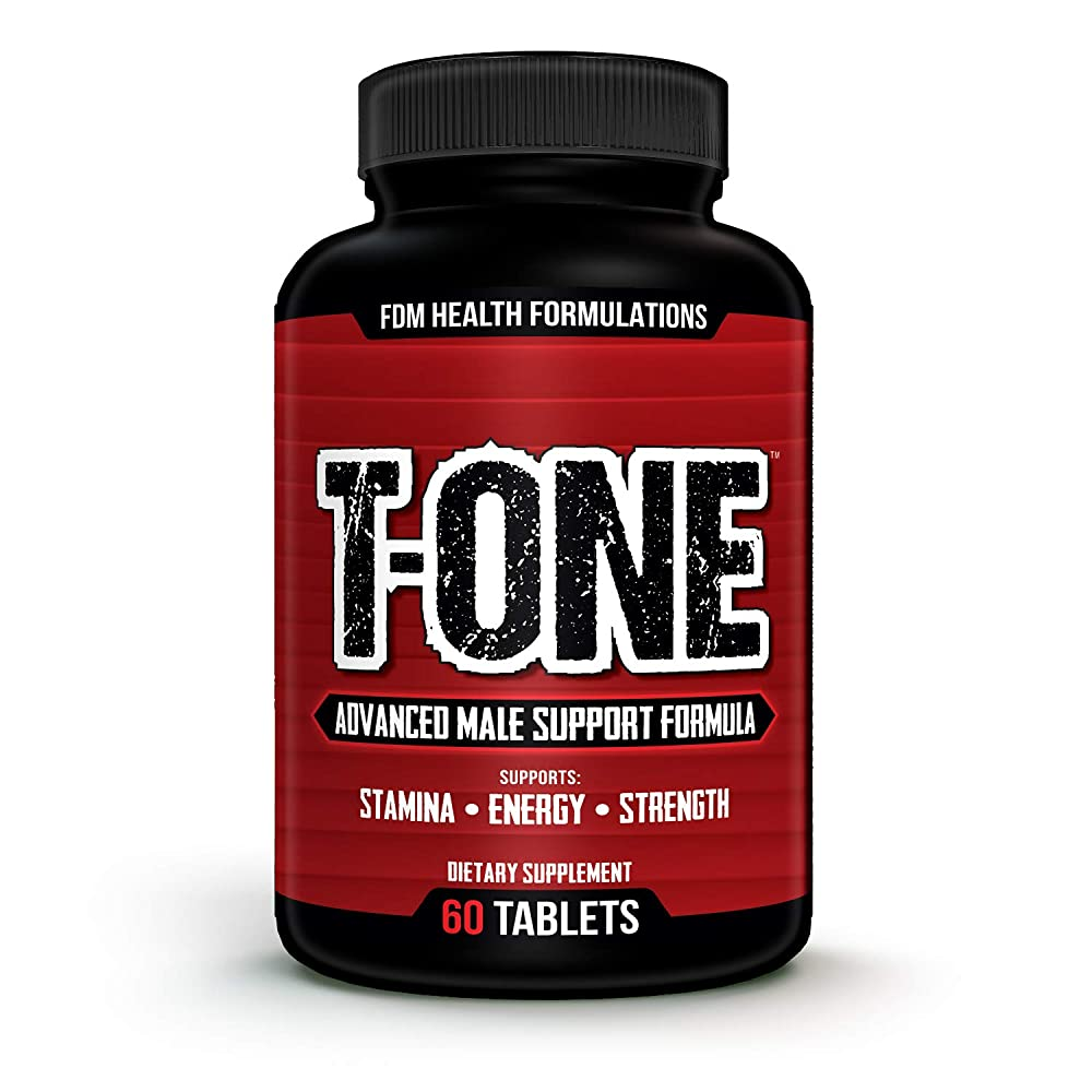 T-ONE 2273mg Testosterone Booster for Men (60 Tablets 30 Day Supply) Potent Superfood