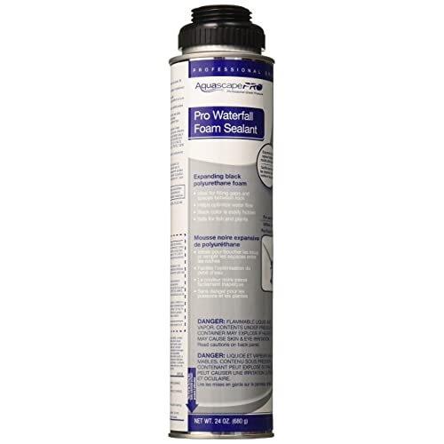 Buy Aquascape Pro Professional Black Foam Sealant For Pond And Waterfall Installation Tools 24 Ounces 30096 Online In New Zealand B006jf5bo0