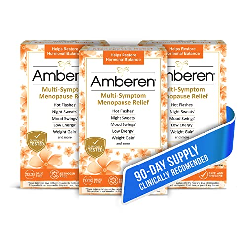 Buy Amberen: Safe Multi-Symptom Menopause Relief  Clinically