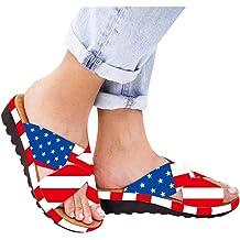 d73abdaf0 Dressin Women's Sandals 2019 Women Comfy Platform Sandal Shoes Summer  Beach Travel