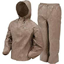 6ff5e1c3195bb Frogg Toggs Ultra-Lite2 Water-Resistant Breathable Rain Suit, Men'