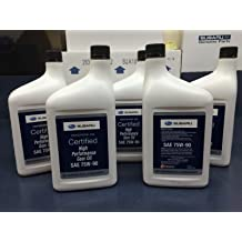 c3926705f52 Subaru 75W90 Extra S Gear  amp  Transmission Fluid - 5 quart Bottles Sti  Wrx Genuine