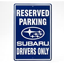 8dcff297179 Genuine Subaru Reserved Parking Sign Legacy Wrx Sti Outback Forester Rally  Blue